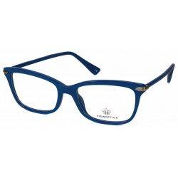 daf7aa83fe74e Óculos completos para perto ou computador. Armaçao de acetato injectado  para senhora de cor azul, fina e elegante. Lentes orgânicas brancas com  qualidade ...