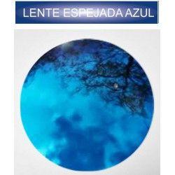 lente espejada graduada azul
