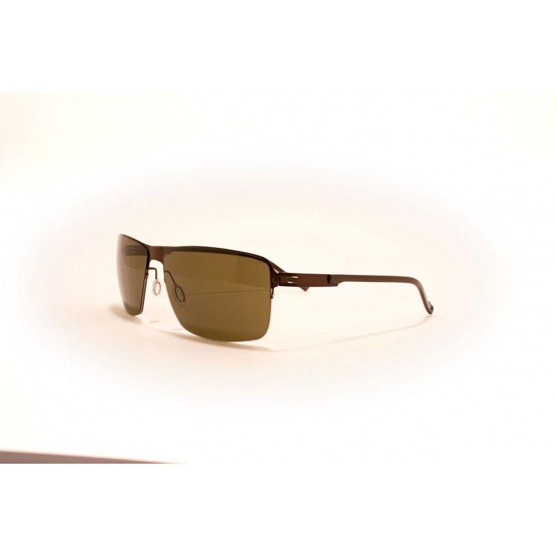f74b9917c163f Óculos de sol de alta gama, metálicos (aço quirúrgico, antialérgico) com  frente de cor preto mate e lentes verde Ray Ban. Extremamente leves e  elegantes, ...