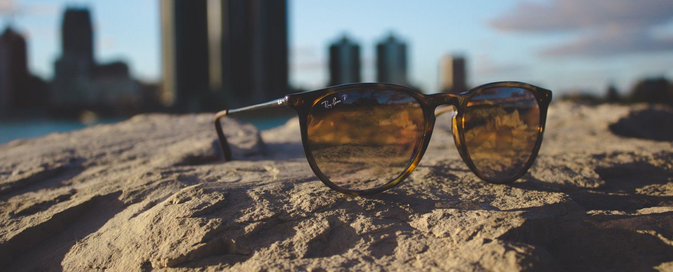 Seccion de gafa de sol